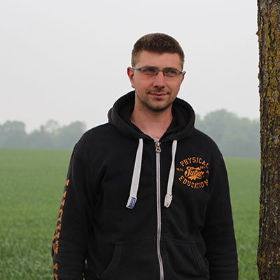 Fabien Monte - Employé agricole, exploitation Dequidt
